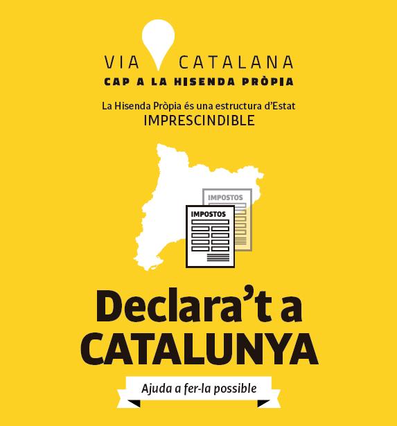 """Sólo 10 personas se unen a la """"hisenda pròpia"""" nacionalista dePuigdemont"""
