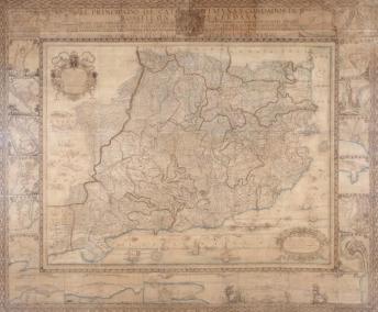 mapa Cataluña borsano